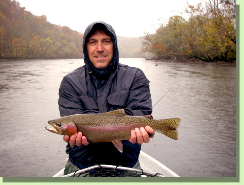 Trophy Clinch River Rainbow Trout Knoxville Tennessee Fly Fishing Guide