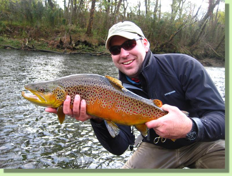 Trophy Caney Fork Brown Trout Tennessee Fly FIshing Guides