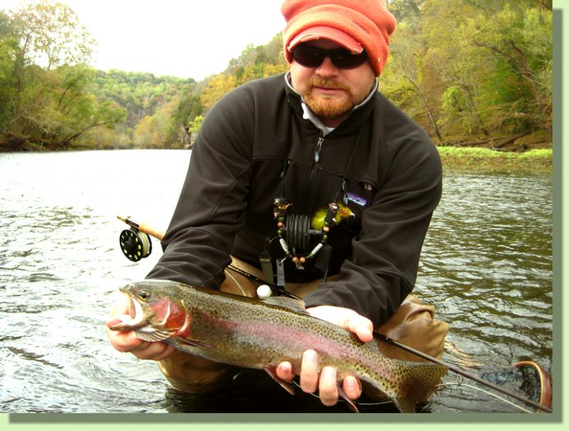 Caney Fork FLy Fishing Guides Tennessee