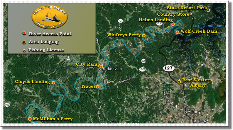 Rocky top anglers cumberland river for Central ohio fishing report