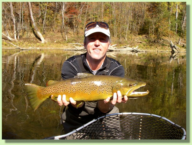Trophy Brown Trout Fly Fishing GUide in Tennessee and Kentucky