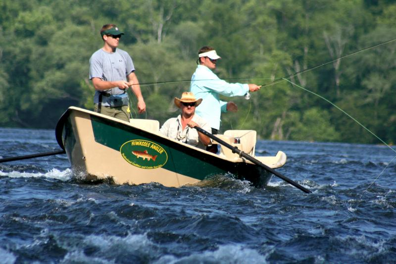 Rocky top anglers for Drift boat fishing