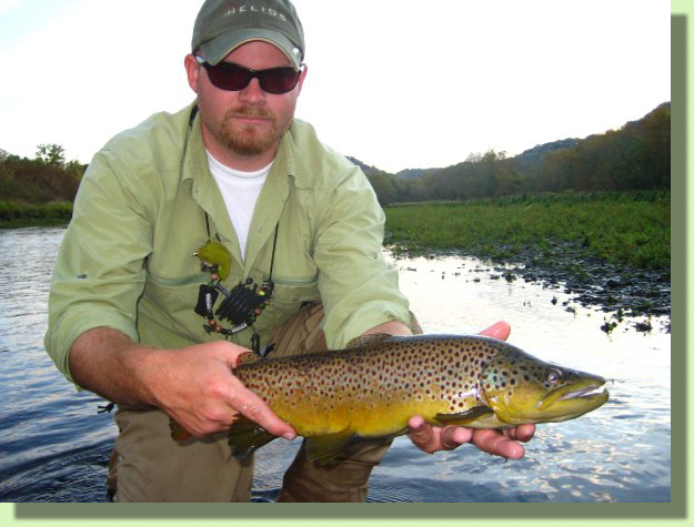 Doug Moore Tennessee Fly Fishing Guide Rocky Top Anglers