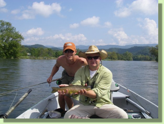 Doug Moore Fly Fishing Guide Tennessee Rocky Top Anglers Knoxville