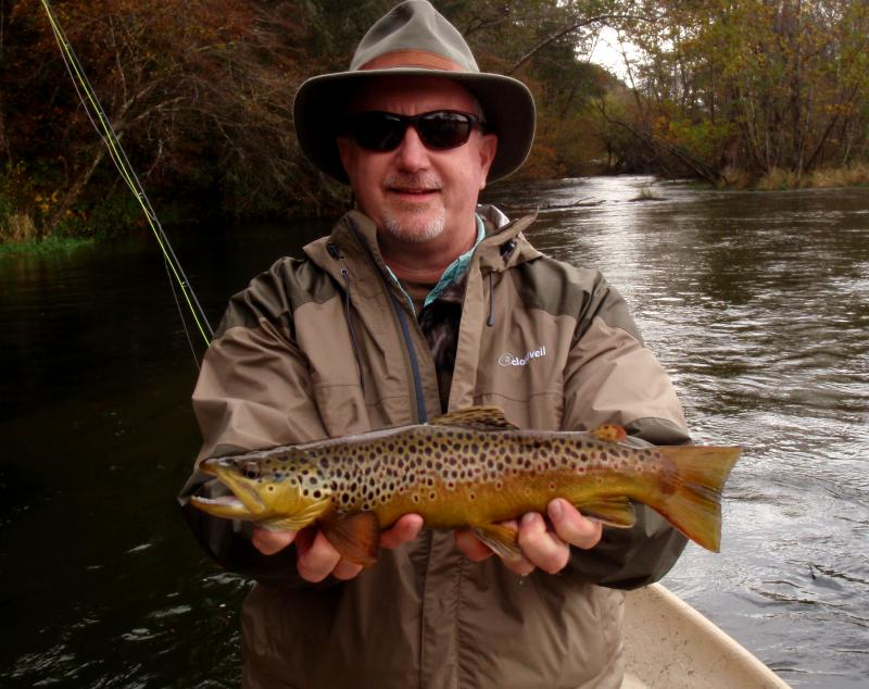 The South Holston is well know for it's beautiful, wild brown trout.