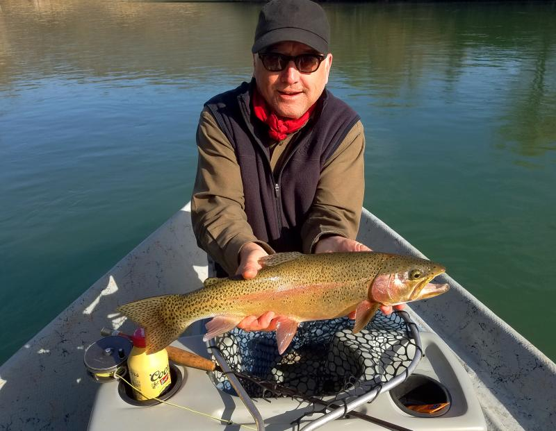 Clinch River Fly Fishing FOr Trout With Outfitter and Guide Rocky Cox
