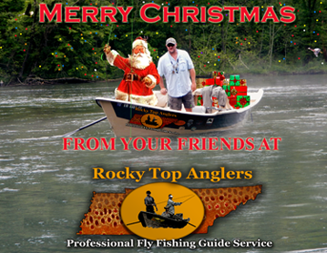 Merry Christmas From Rocky Top Anglers