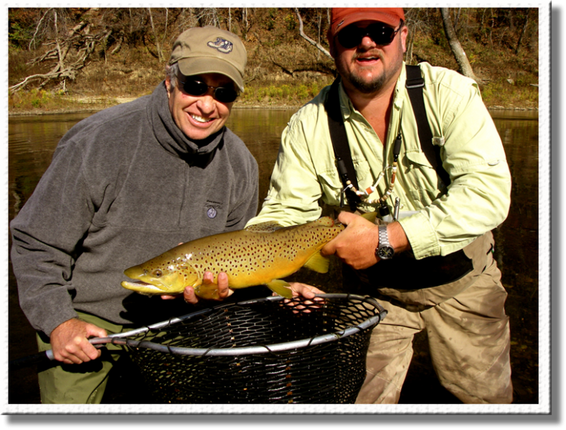 Trophy Brown Trout in the southeast with Rocky Top Anglers