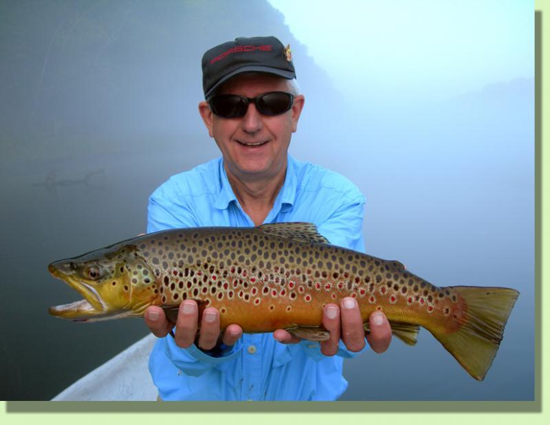 Trophy Clinch River Brown Trout Fly Fishing GUide Rocky Cox Knoxville