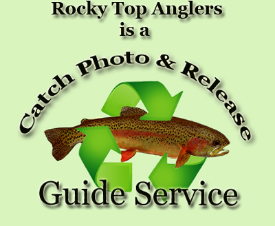 Rocky Top Anglers is a catch photo & Release Guide Service in TN